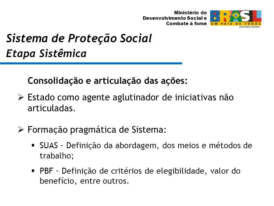 Sistema de Proteção Social Etapa Sistêmica