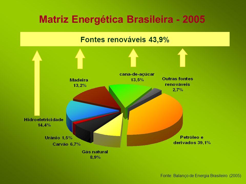 Matriz Energética Brasileira - 2005