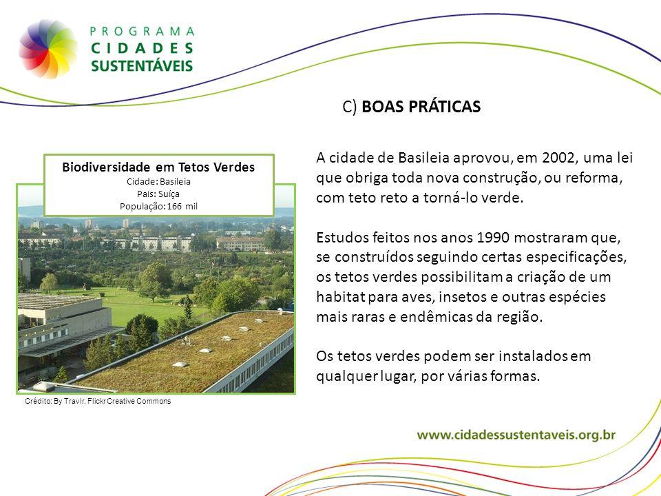 Biodiversidade em Tetos Verdes