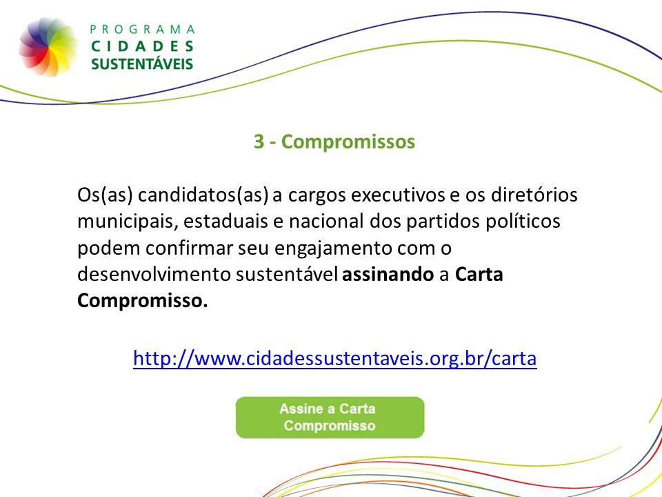 3 - Compromissos