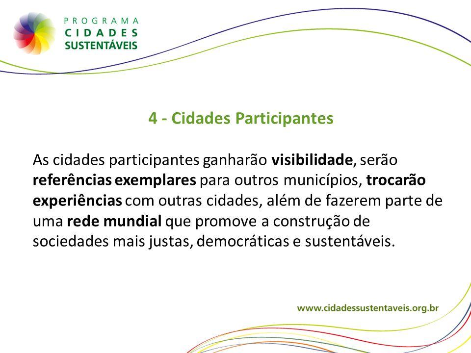 4 - Cidades Participantes