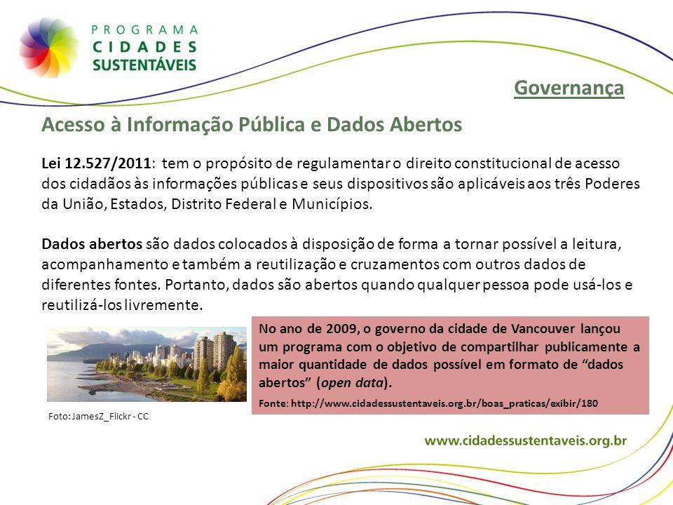 Acesso à Informação Pública e Dados Abertos