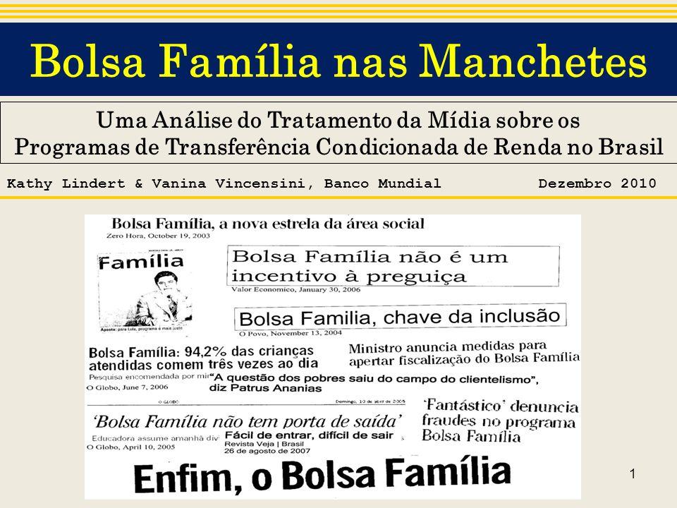 Bolsa Família nas Manchetes