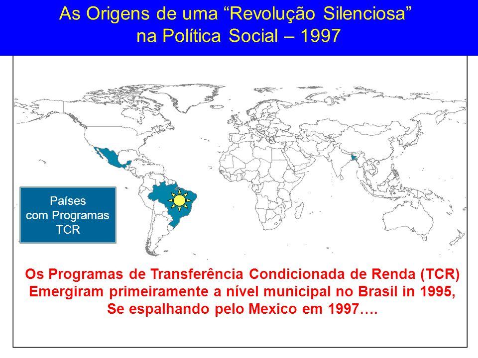 As Origens de uma Revolução Silenciosa na Política Social – 1997
