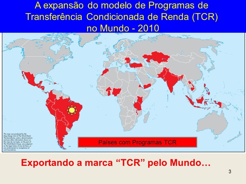 Exportando a marca TCR pelo Mundo…