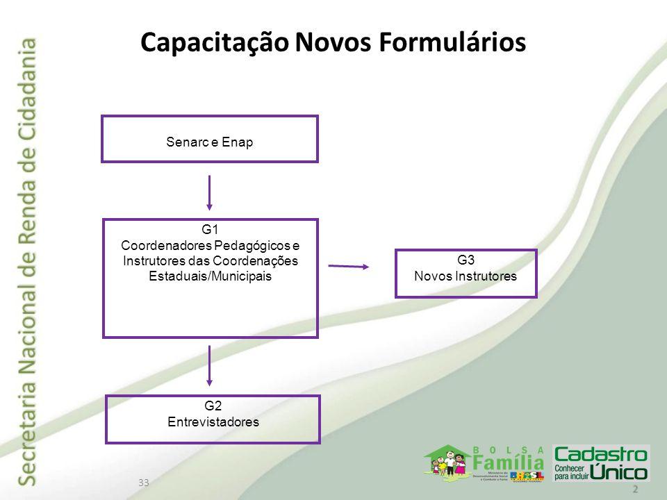 Capacitação Novos Formulários