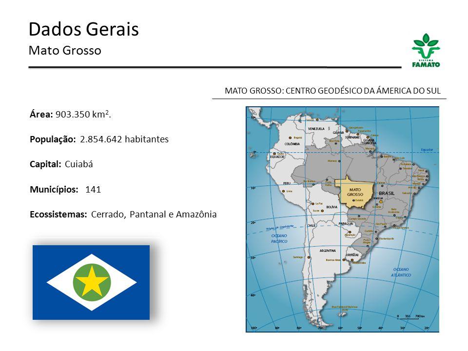 MATO GROSSO: CENTRO GEODÉSICO DA ÁMERICA DO SUL