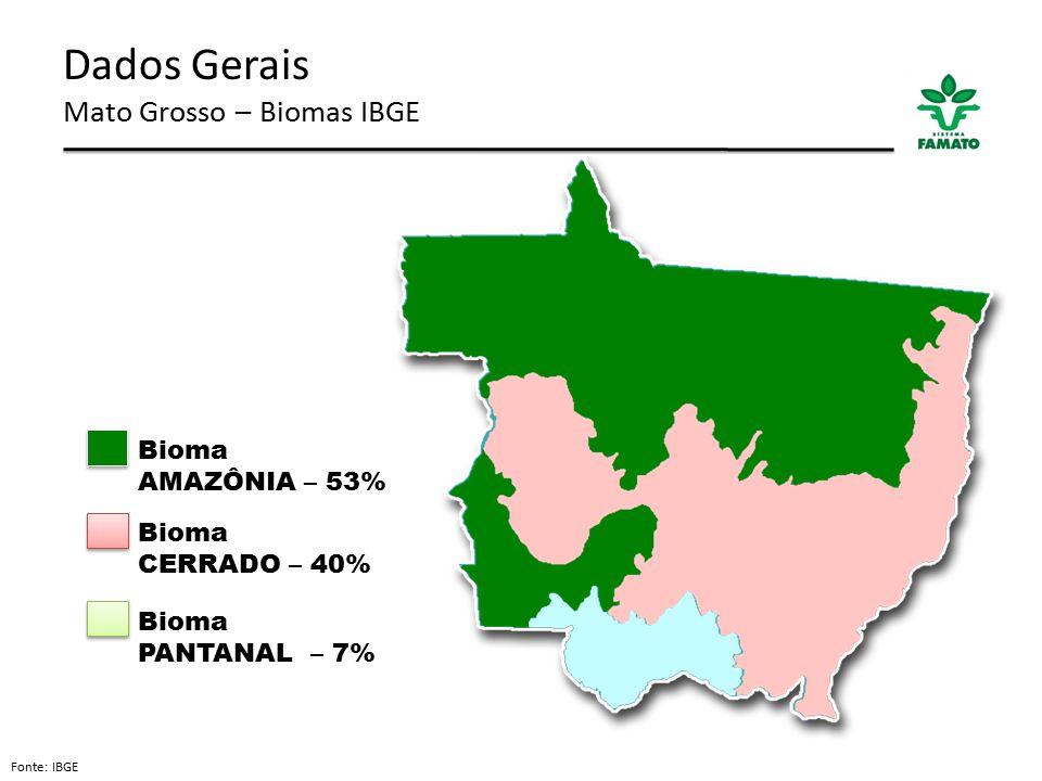 Dados Gerais Mato Grosso – Biomas IBGE