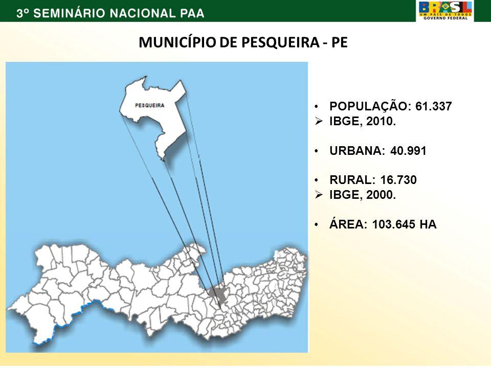 MUNICÍPIO DE PESQUEIRA - PE