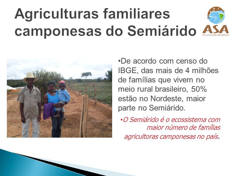 Agriculturas familiares camponesas do Semiárido