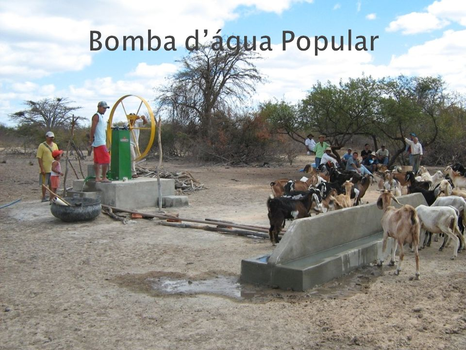 Bomba d'água Popular