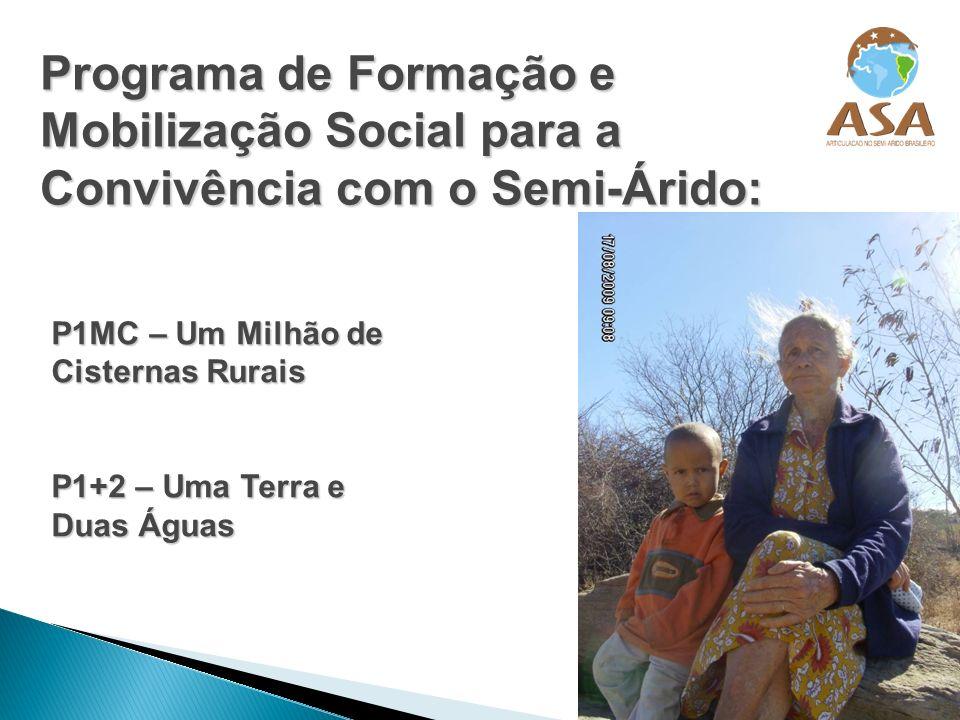 Programa de Formação e Mobilização Social para a Convivência com o Semi-Árido: