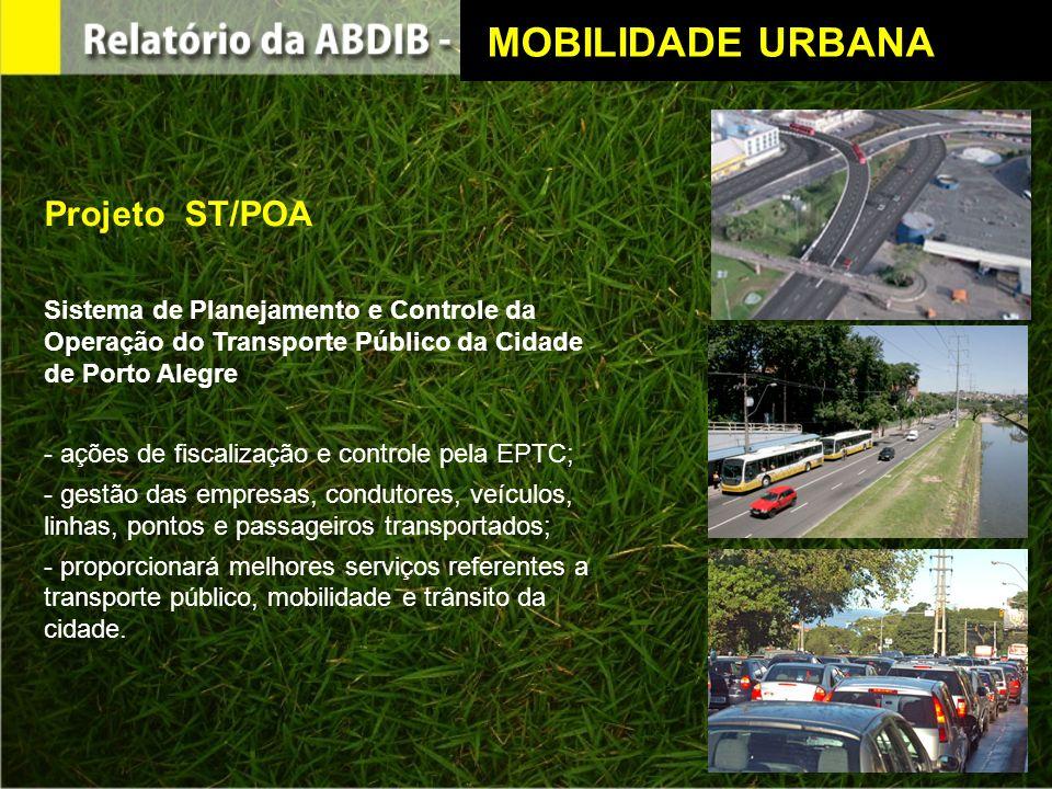 MOBILIDADE URBANA Projeto ST/POA