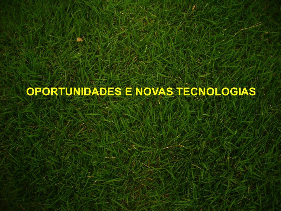 OPORTUNIDADES E NOVAS TECNOLOGIAS