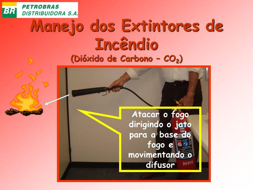 Manejo dos Extintores de Incêndio (Dióxido de Carbono – CO2)