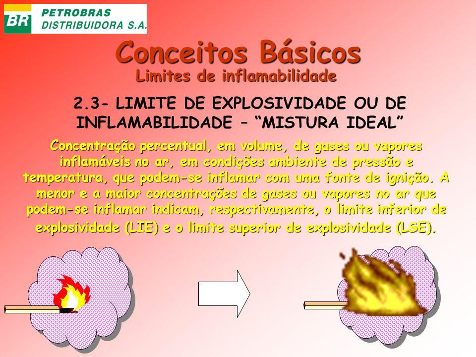 Conceitos Básicos Limites de inflamabilidade