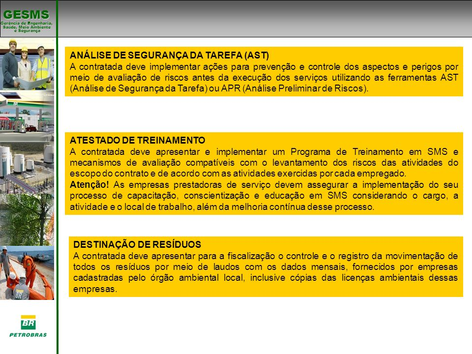 ANÁLISE DE SEGURANÇA DA TAREFA (AST)