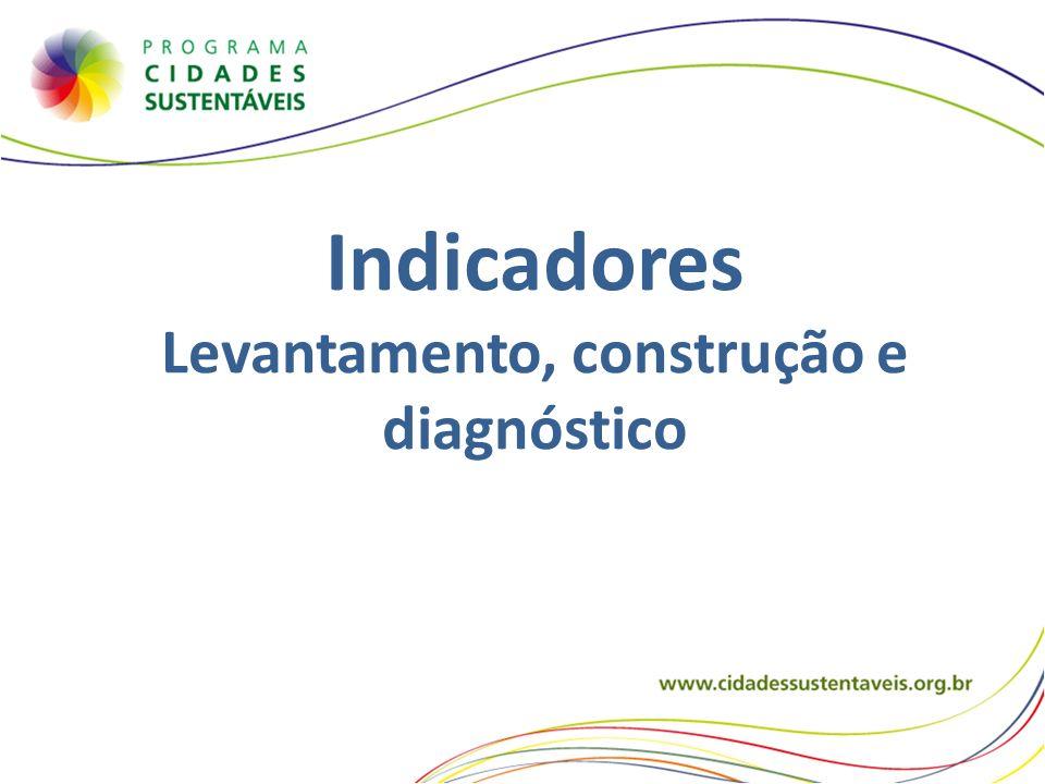 Levantamento, construção e diagnóstico