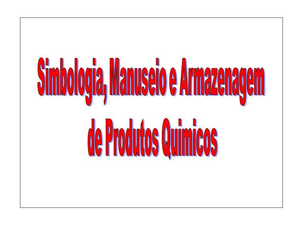 Simbologia, Manuseio e Armazenagem