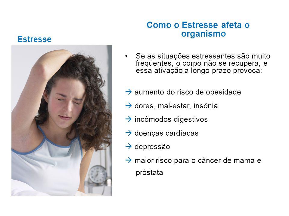 Como o Estresse afeta o organismo