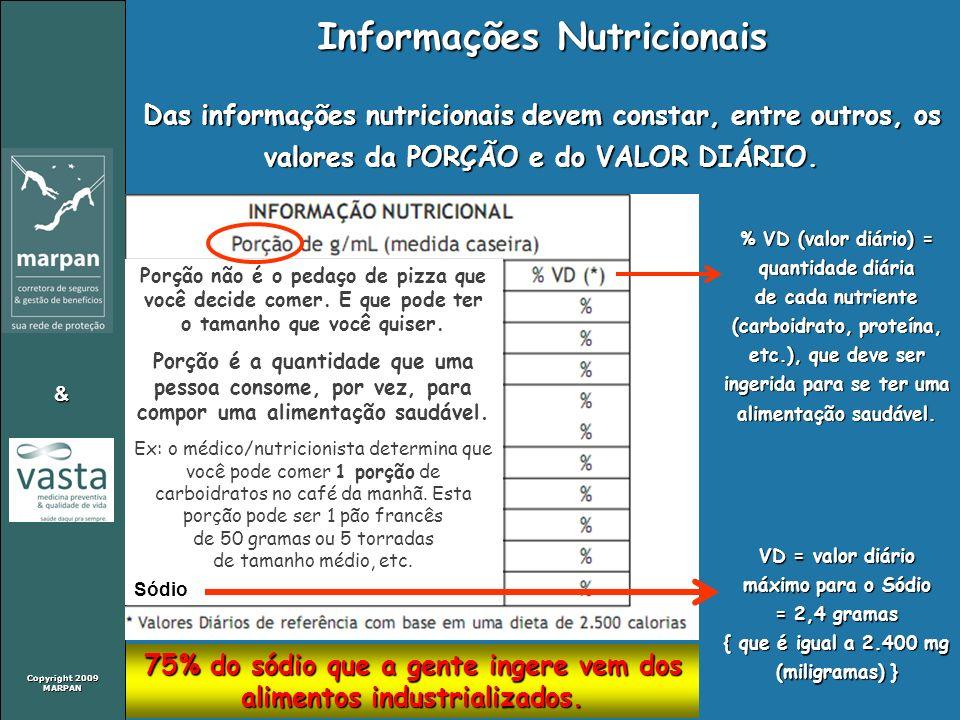 Informações Nutricionais
