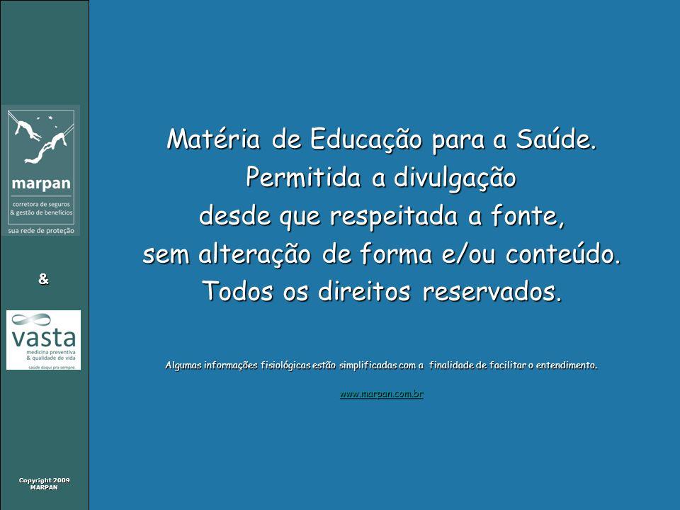 Matéria de Educação para a Saúde. Permitida a divulgação