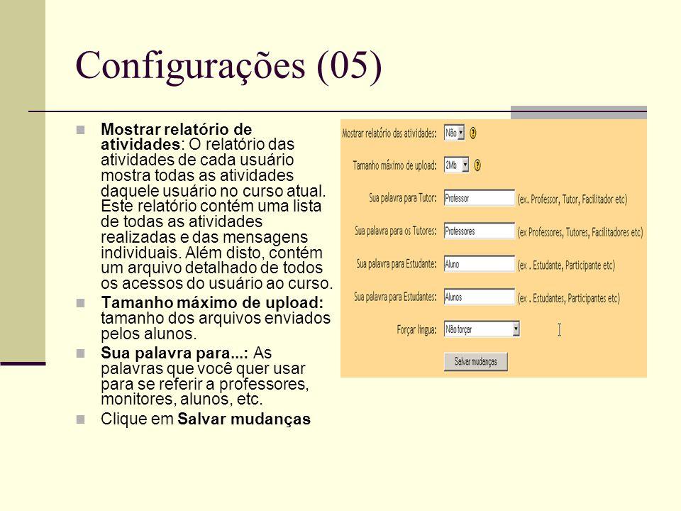 Configurações (05)