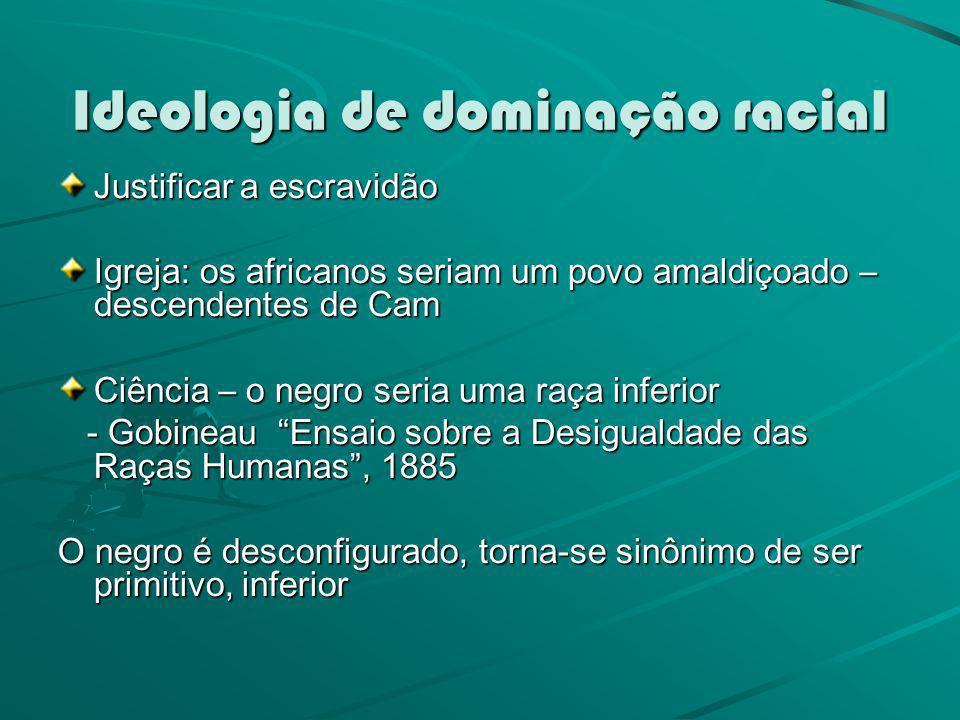 Ideologia de dominação racial