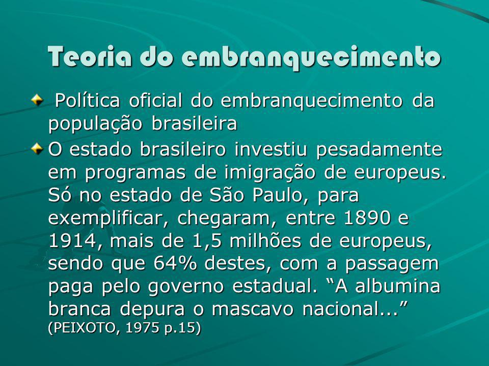 Teoria do embranquecimento