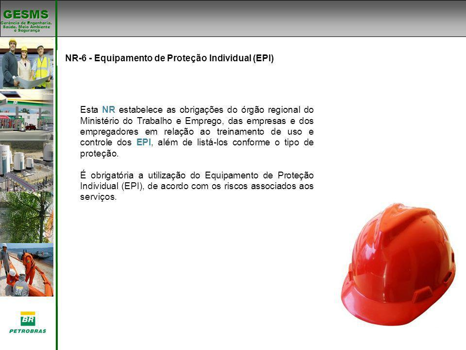 NR-6 - Equipamento de Proteção Individual (EPI)
