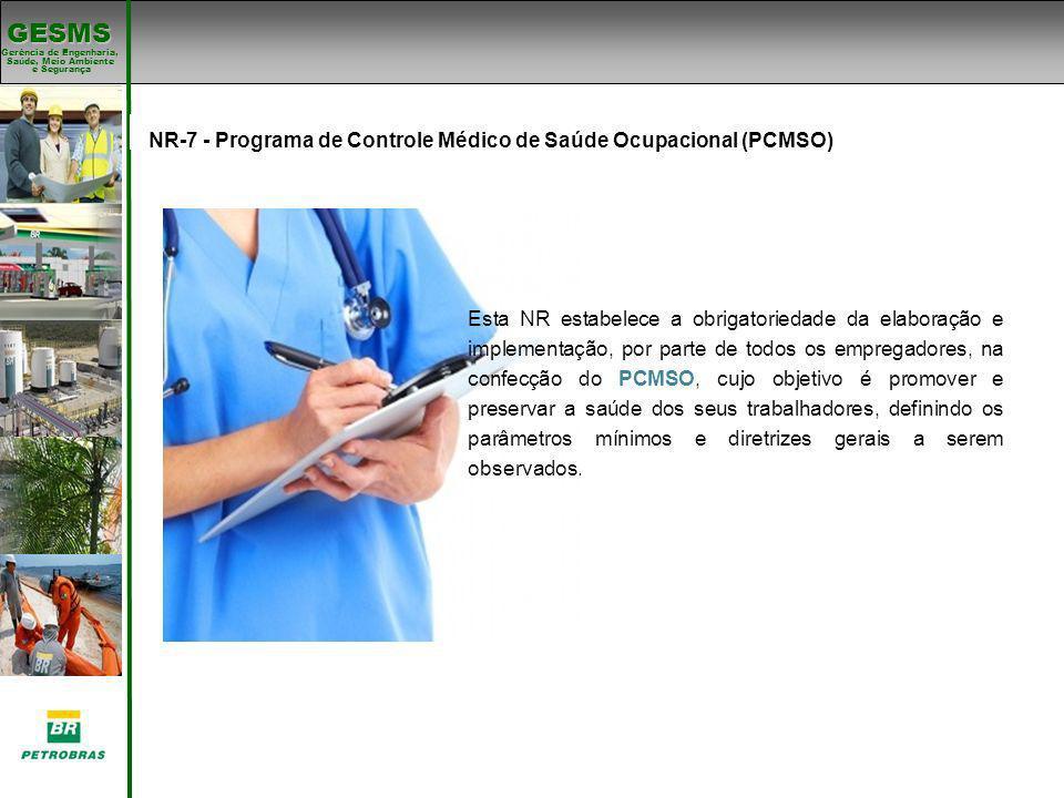 NR-7 - Programa de Controle Médico de Saúde Ocupacional (PCMSO)