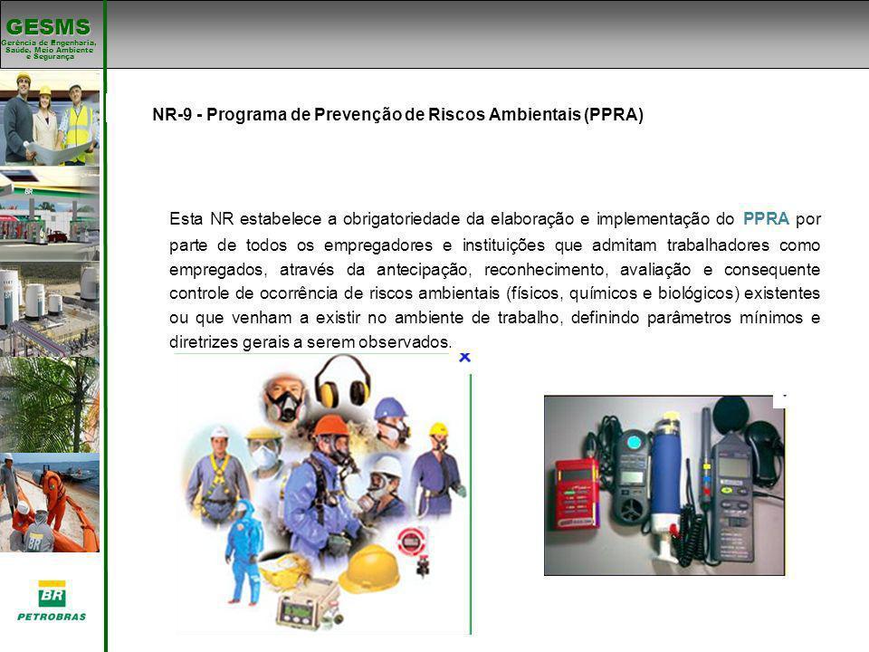 NR-9 - Programa de Prevenção de Riscos Ambientais (PPRA)