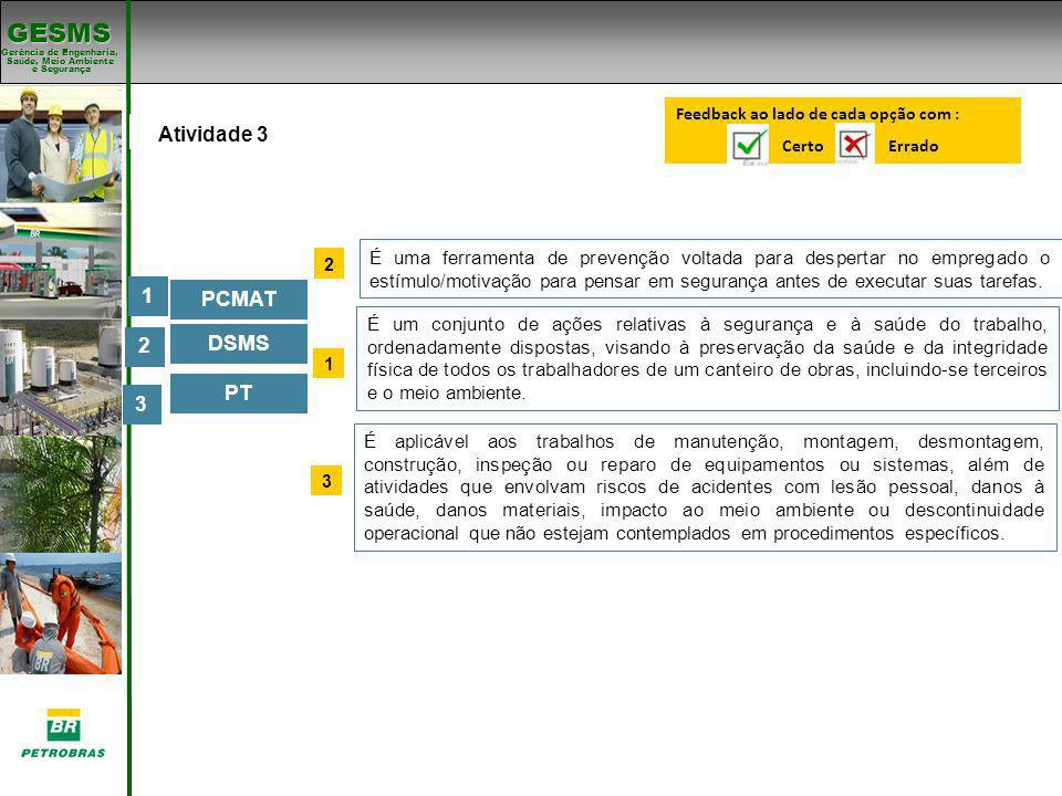 Padrões de SMS Atividade 3 1 PCMAT 2 DSMS PT 3