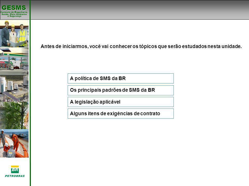 Os principais padrões de SMS da BR