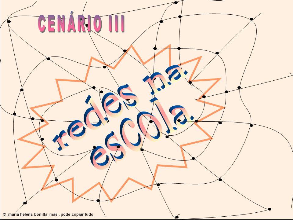 CENÁRIO III redes na escola