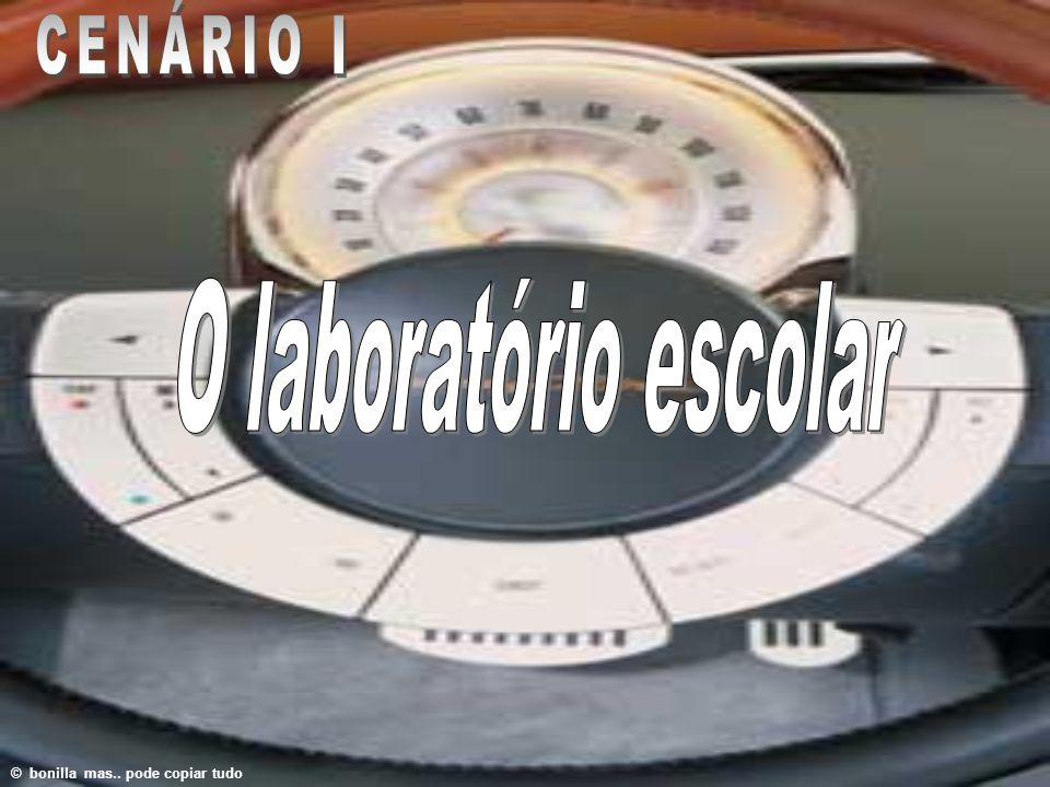 CENÁRIO I O laboratório escolar © bonilla mas.. pode copiar tudo