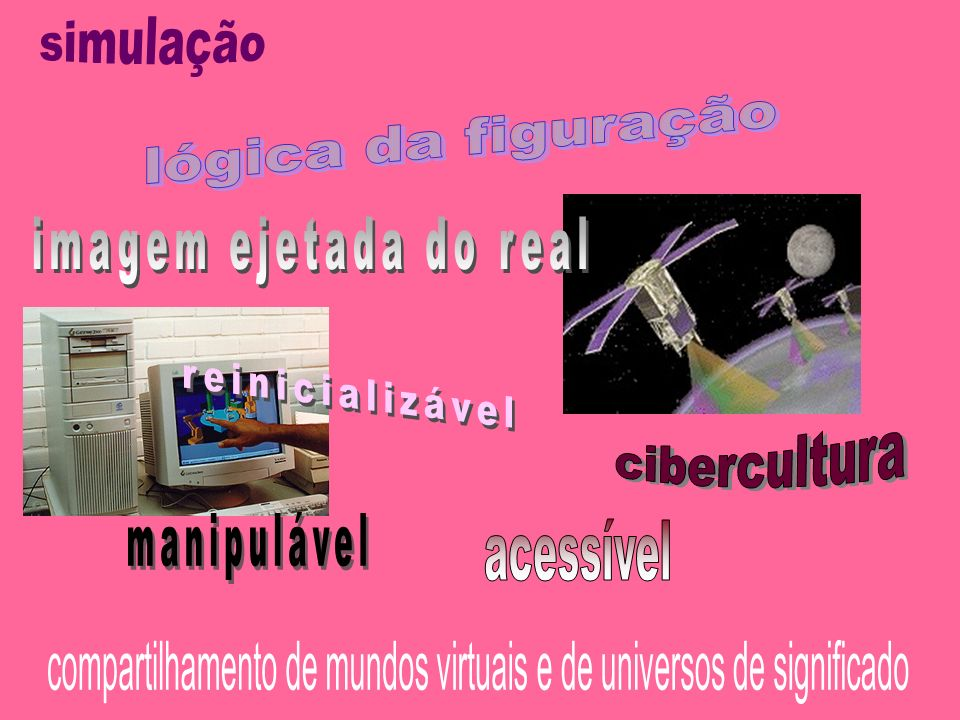 compartilhamento de mundos virtuais e de universos de significado
