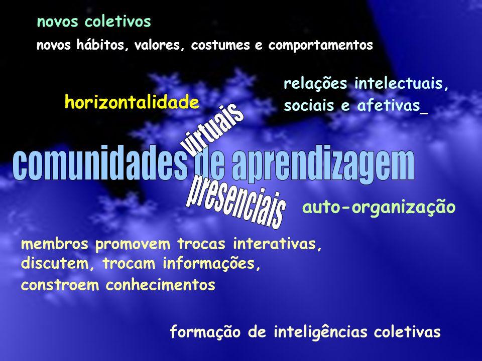 horizontalidade auto-organização novos coletivos