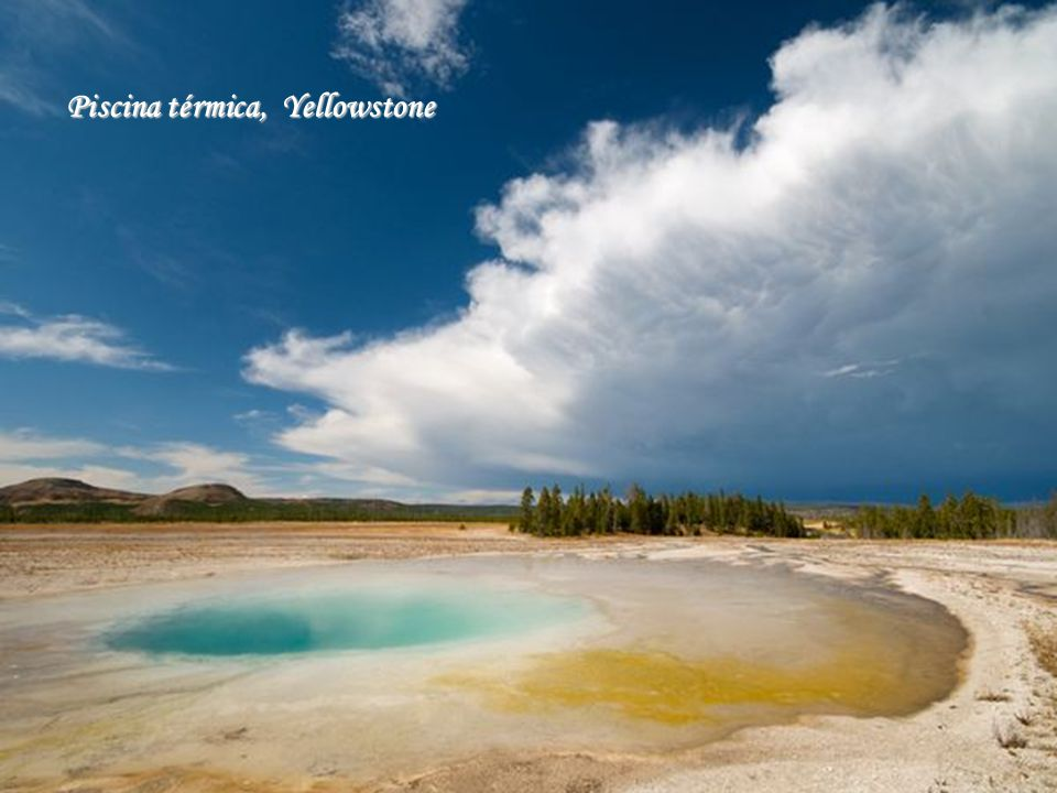 Piscina térmica, Yellowstone