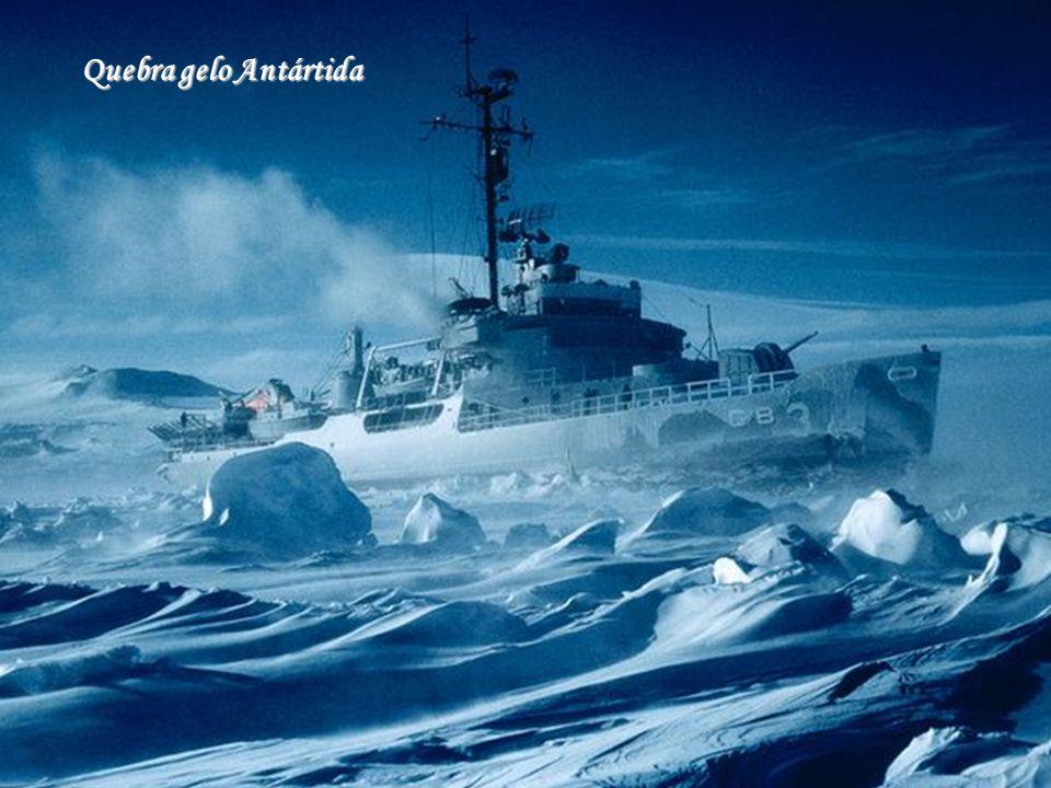 Quebra gelo Antártida