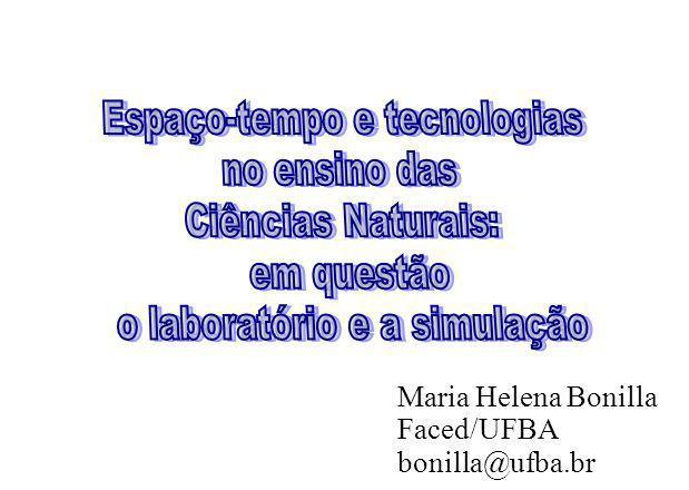 Espaço-tempo e tecnologias no ensino das Ciências Naturais: em questão