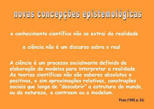 novas concepções epistemológicas