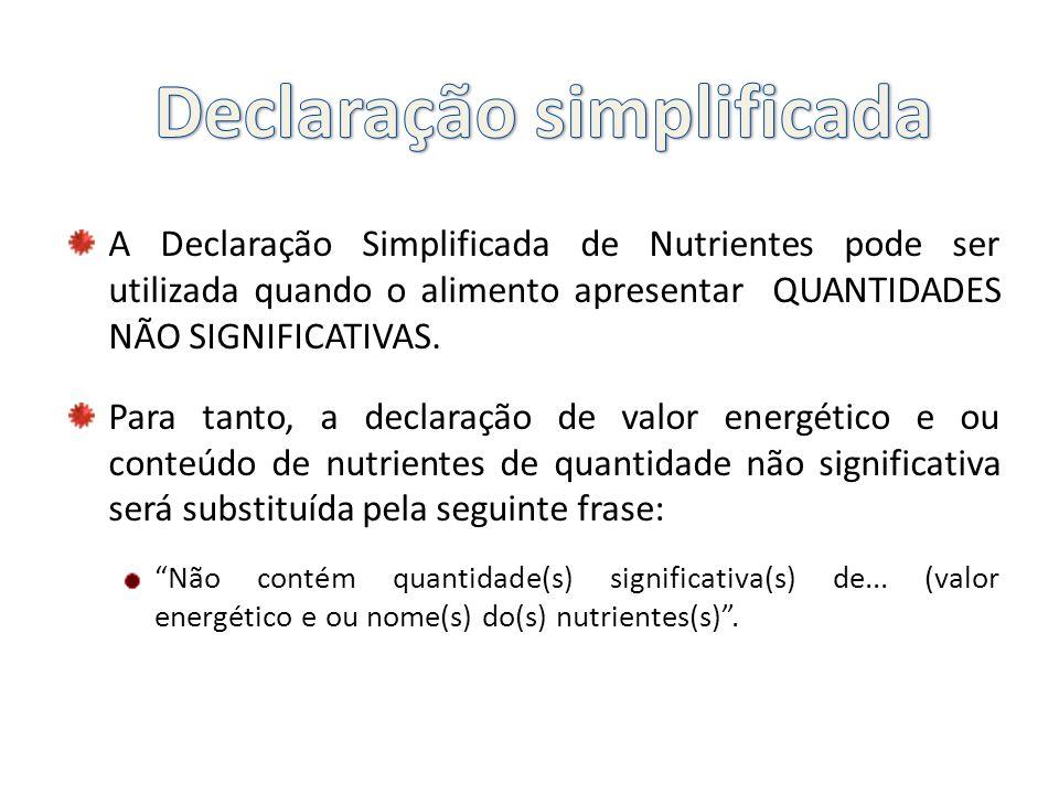 Declaração simplificada