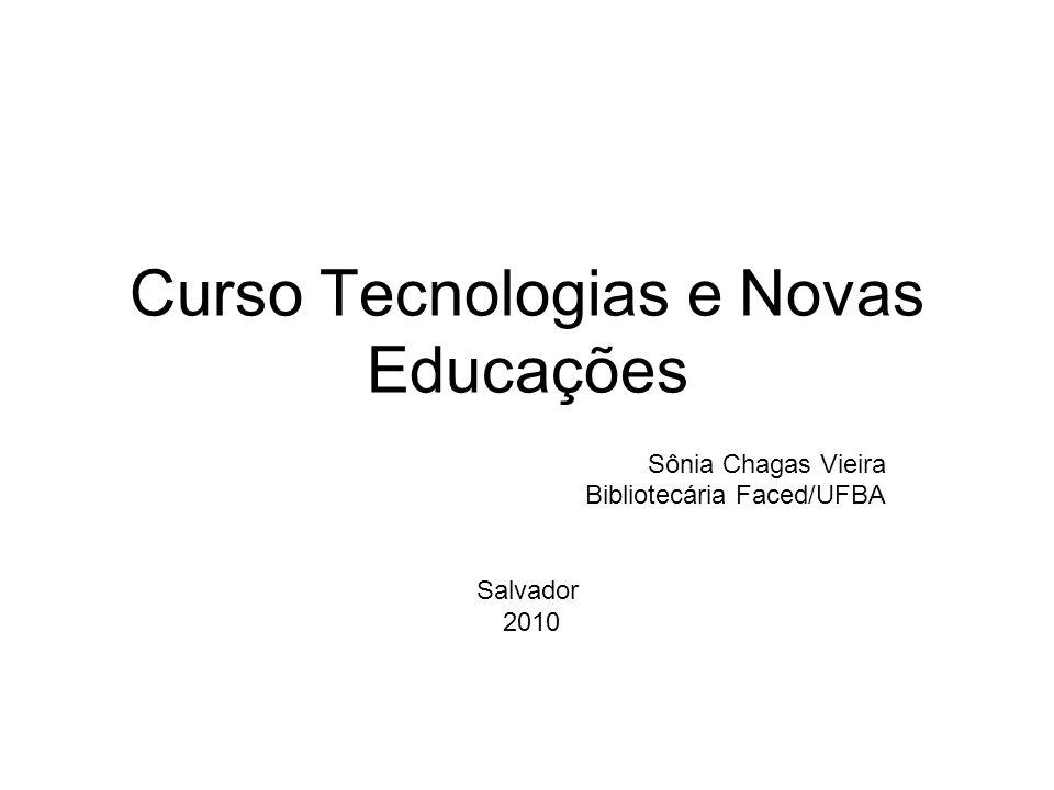 Curso Tecnologias e Novas Educações