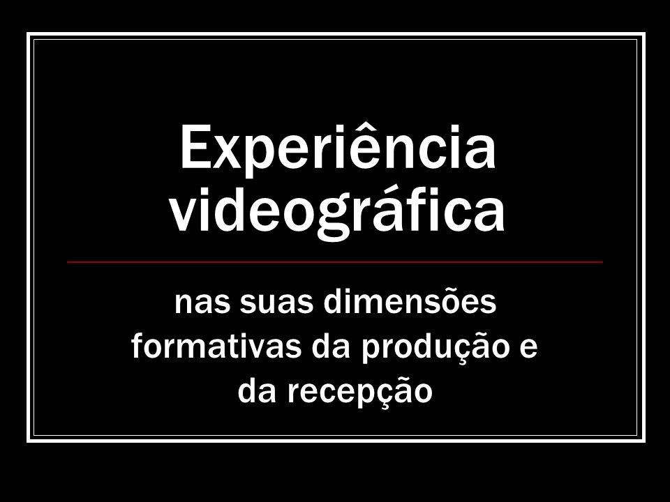 Experiência videográfica