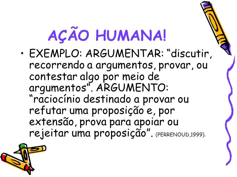 AÇÃO HUMANA!