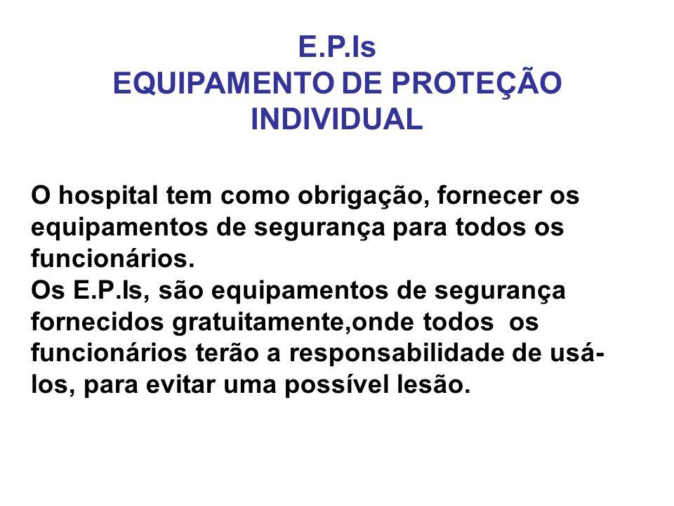 E.P.Is EQUIPAMENTO DE PROTEÇÃO INDIVIDUAL