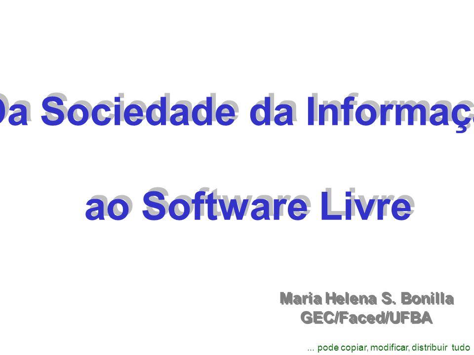 Da Sociedade da Informação