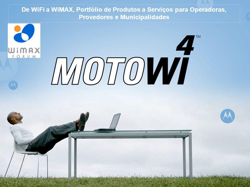 De WiFi a WiMAX, Portfólio de Produtos a Serviços para Operadoras,