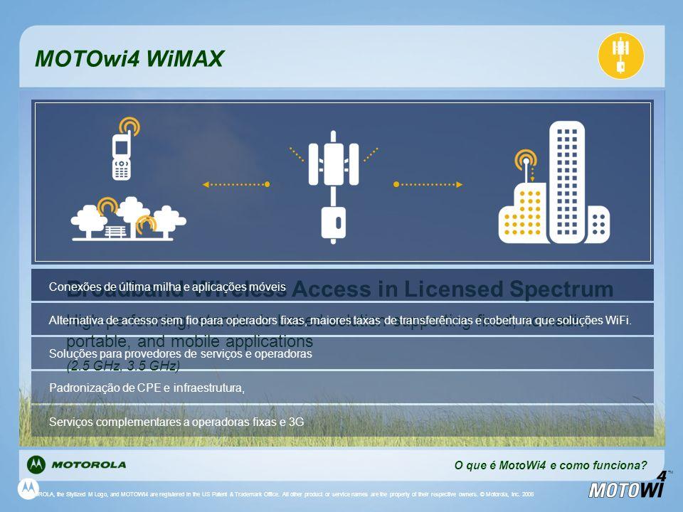Broadband Wireless Access in Licensed Spectrum